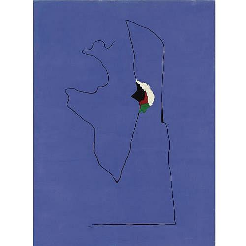 l - Joan Miró , Peinture (Le Cheval de cirque)