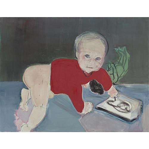Marlene Dumas , In the Beginning