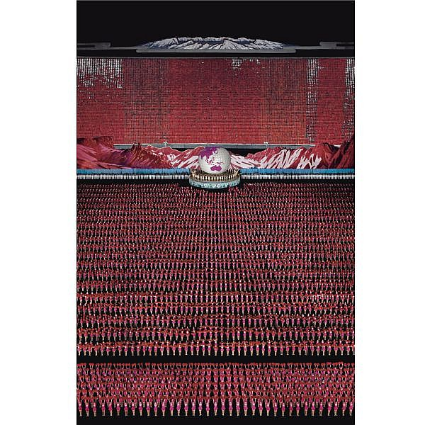 Andreas Gursky , b. 1955 Pyongyang IV cibachrome print
