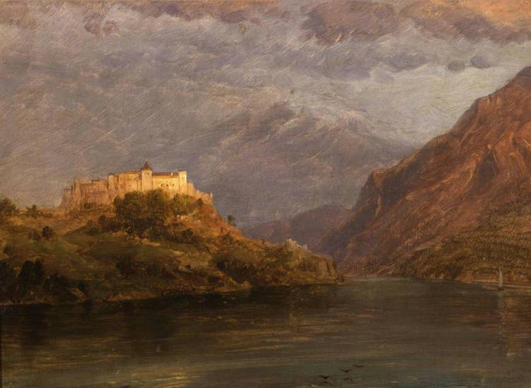 *FREDERIC EDWIN CHURCH (1826-1900)