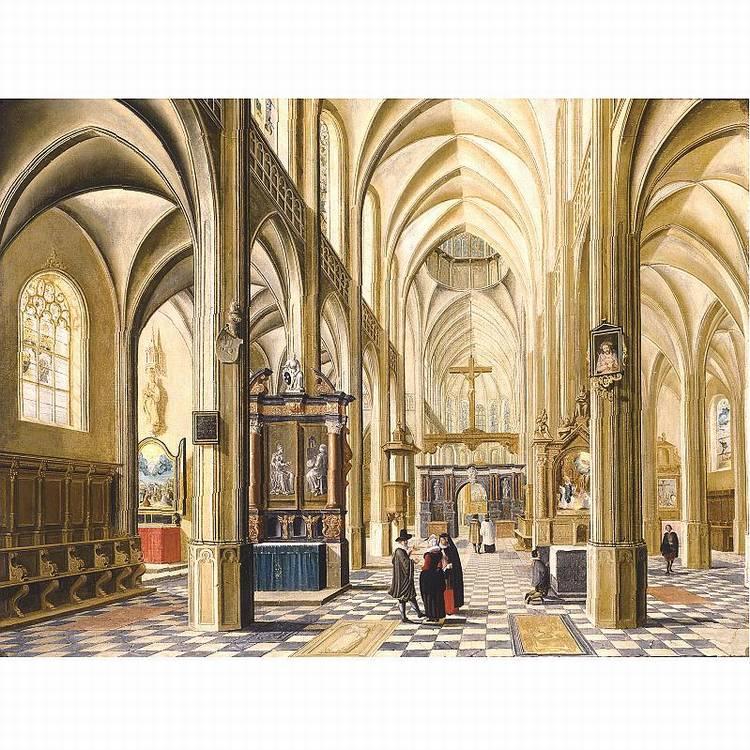 * BARTHOLOMEUS VAN BASSEN ANTWERP CIRCA 1590 - 1652 THE HAGUE