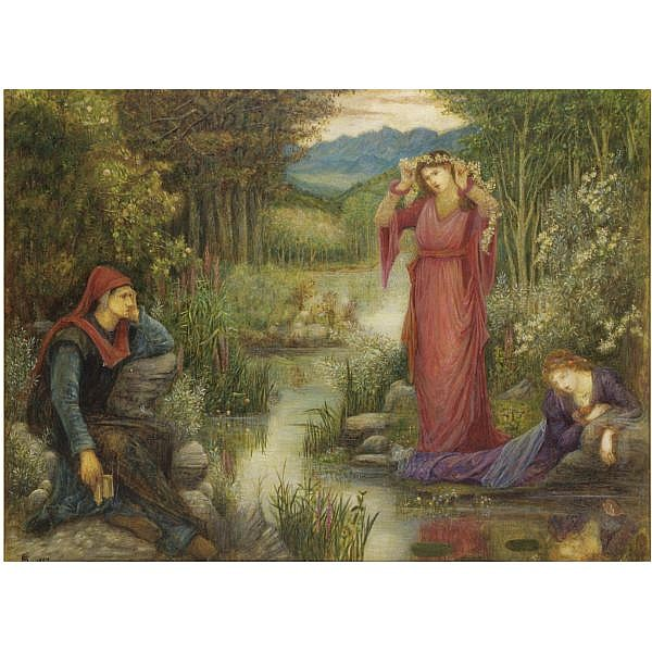 Marie Spartali Stillman , British 1844-1927 