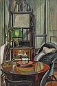 Roy de Maistre 1894-1968 STUDIO INTERIOR oil on canvas