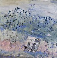 Robert Juniper 1929-2012 PORTRAIT IN A LANDSCAPE (JACK DAVIS) 1986 synthetic polymer paint on canvas