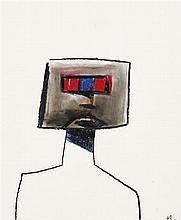 SIDNEY NOLAN 1917-1992 Kelly 1956 pastel on paper