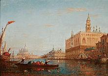 CHARLES CLEMENT CALDERON, FRENCH 1870 - 1906View of Venice