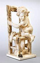 A marble sculpture, early 20th century