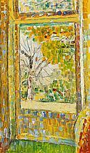 GRACE COSSINGTON SMITH 1892-1984 Studio Door 1968 oil on composition board