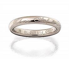 Platinum and diamond ring, Van Cleef & Arpels