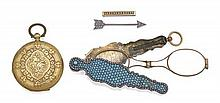 A collection of four miscellaneous items, 19th Century