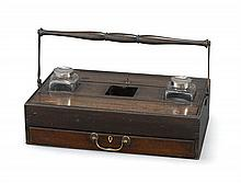 A George III mahogany portable desk stand (3)