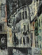 JUDY CASSAB born 1920 The Spirit of Anne Frank 1970 oil on composition board