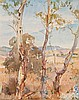 HANS HEYSEN 1877-1968 Mount Barker Landscape in Summer watercolour on paper, Hans Heysen, AUD5,000