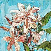 NICHOLAS HARDING born 1956 Wooli Frangipani (4) 2004 oil on canvas