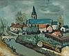 CELSO LAGAR 1891-1966 Arreau Paysage oil on canvas, Celso Lagar, AUD2,400
