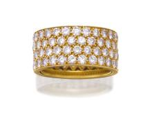 18ct gold and diamond ring, Van Cleef & Arpels