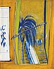 BRETT WHITELEY 1939-1992 The Pier at Lavender Bay 1979-1980 oil on board