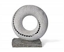 KEIZO USHIO born 1951 Oushio Zokei Tensei Transfiguration (2005) Portuguese white granite