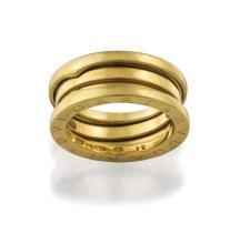 18ct gold 'B.ZERO1' ring, Bulgari