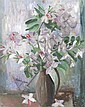 Margaret Olley 1923-2011 PINK BAUHINEA 1964 oil on composition board
