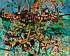 JOHN OLSEN born 1928 Captain Dobbin 1973 oil and synthetic polymer paint on composition board, John Olsen, AUD260,000