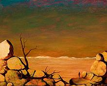 RUSSELL DRYSDALE 1912-1981 Landscape (circa 1966) oil on canvas