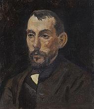 § JULIAN ASHTON 1851-1942 Louis Abrahams oil on board