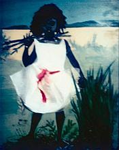 DESTINY DEACON born 1957 Girl Alone 2001 light jet print from Polaroid original