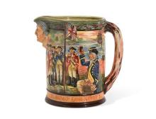 A large Royal Doulton limited edition Jug commemorating the 150th anniversary of settlement in New south Wales and the City of Sydne...