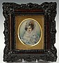 VERY FINE 19TH C. BRITISH SCHOOL MINIATURE PORTRAIT