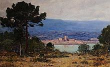 WILLIAM PICKNELL (1853-1897) OIL ON CANVAS