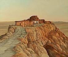 PATRICK WAYNE GORMAN (BORN 1929) OIL ON PANEL