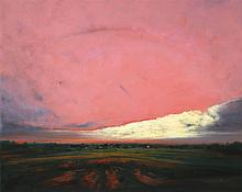 DAVID MELBY (1942-2014) OIL ON CANVAS
