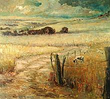 KENT R. WALLIS (BORN 1945) OIL ON CANVAS