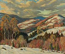 EARLE TITUS (1895-1962) OIL ON CANVAS BOARD