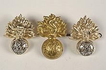 FIFTEEN BRITISH FUSILIER AND RELATED BADGES