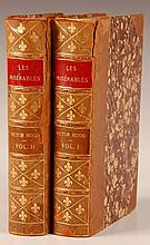 HUGO, VICTOR; LES MISERABLES, 2 VOLS. 1887, T.Y. CROWELL