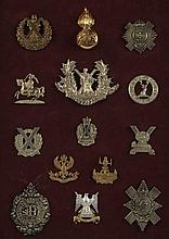FOURTEEN BRITISH CAP BADGES ROYAL SCOTS, MORE