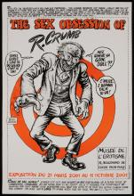 R. CRUMB (b.1943) PRINT AND SIGNED POSTER