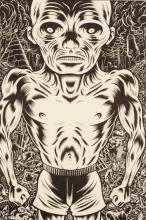 CHARLES BURNS (b.1955) FOUR SIGNED PRINTS