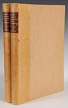 CESCINSKY & GRIBBLE, EARLY ENGLISH FURNITURE & WOODWORK, 2 VOLS, 1922