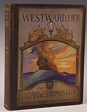 KINGSLEY, CHARLES, WESTWARD HO!, N.C. WYETH, 1930