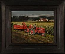 THOMAS MCLAY HOYNE (1924 - 1989) FARMALL TRACTOR