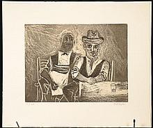 WILLIAM GROPPER (1897-1977) PENCIL SIGNED ETCHING