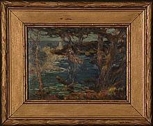 WILLIAM POSEY SILVA(California 1859-1948) OIL ON BOARD