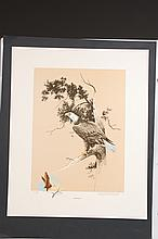 THREE BERNARD MARTIN LITHOGRAPHS WITH REMARQUES