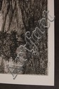 PETER JOHNSON PENCIL SIGNED AQUATINT ETCHING