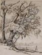 JAMES SWANN (1905-1985) PENCIL SIGNED ETCHING