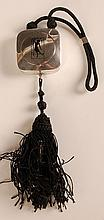 1922 STERLING DUO COMPACT WITH LIPSTICK TASSEL