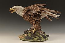 BOEHM PORCELAIN BALD EAGLE